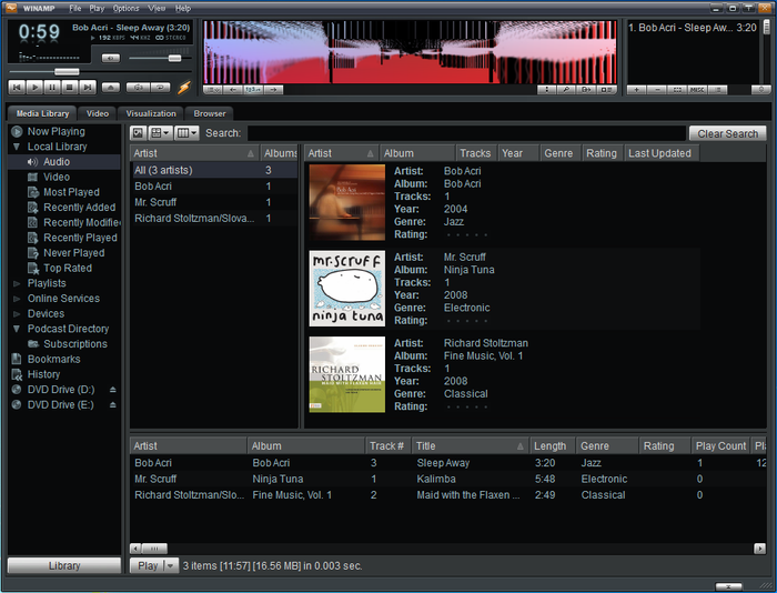 Download file .Winamp gratis